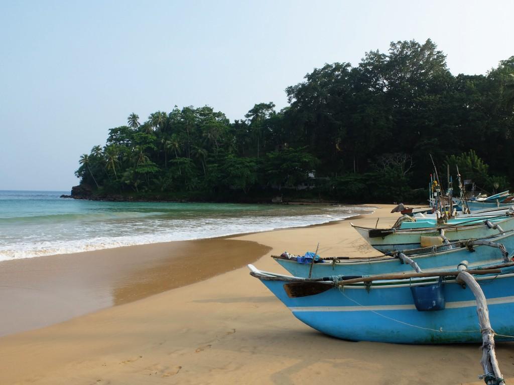 Sri Lankan Fishing Boats