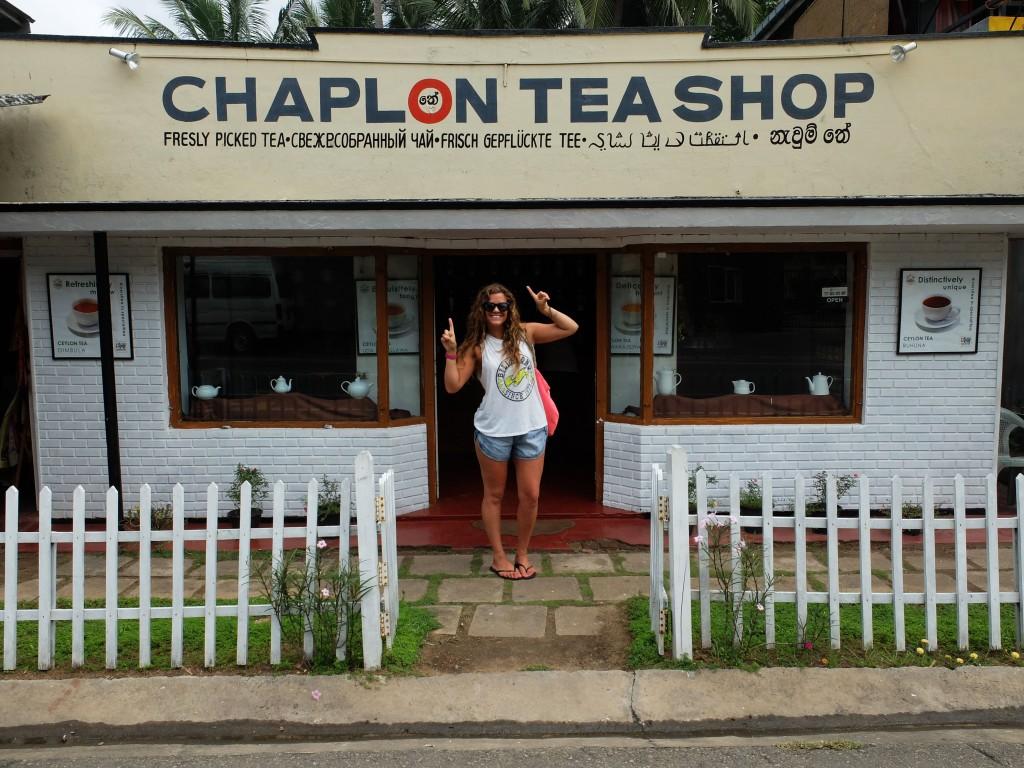 Tea shops everywhere