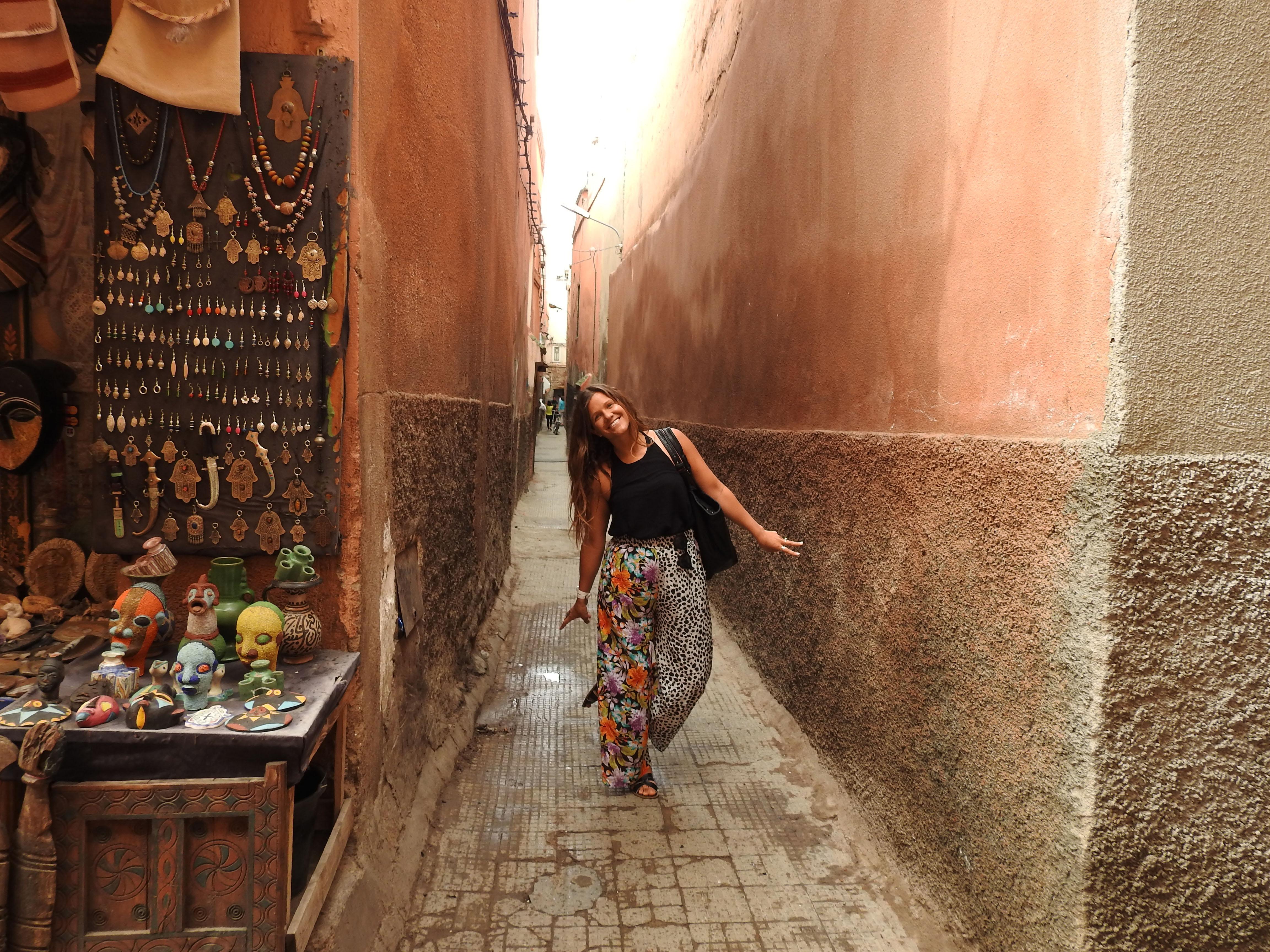 Mazelike alleys