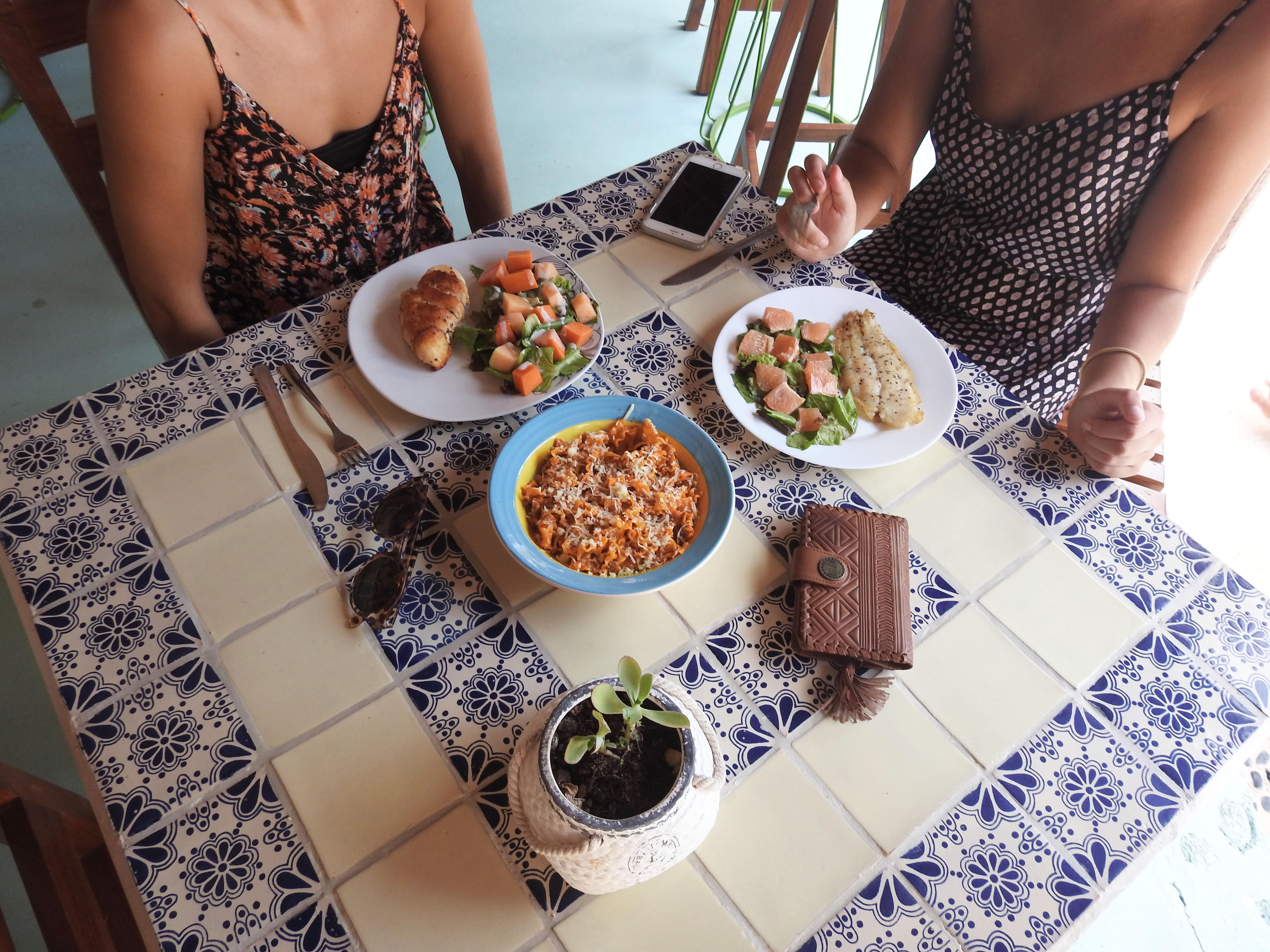Boho Hotels food