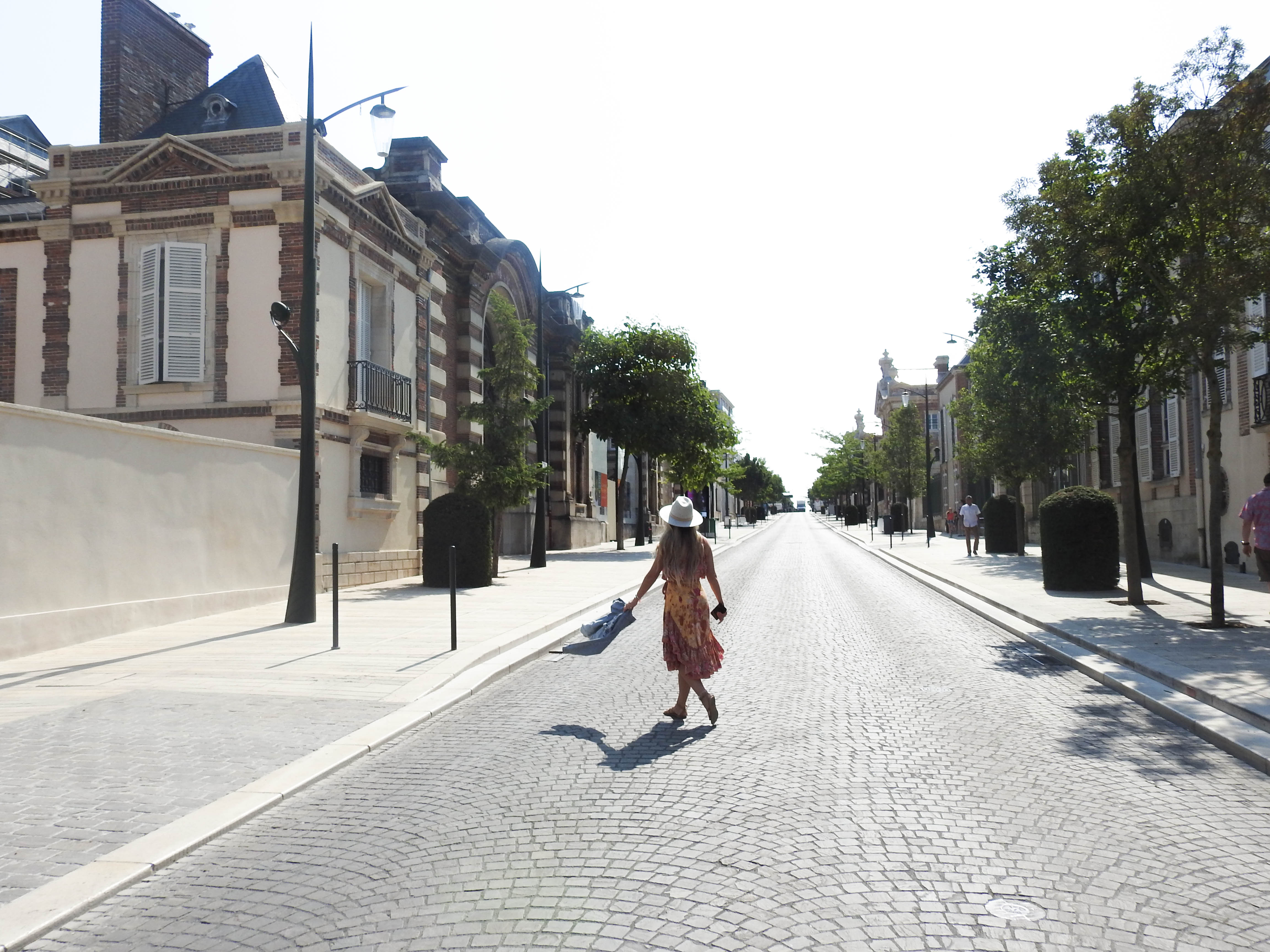 Streets of Epernay