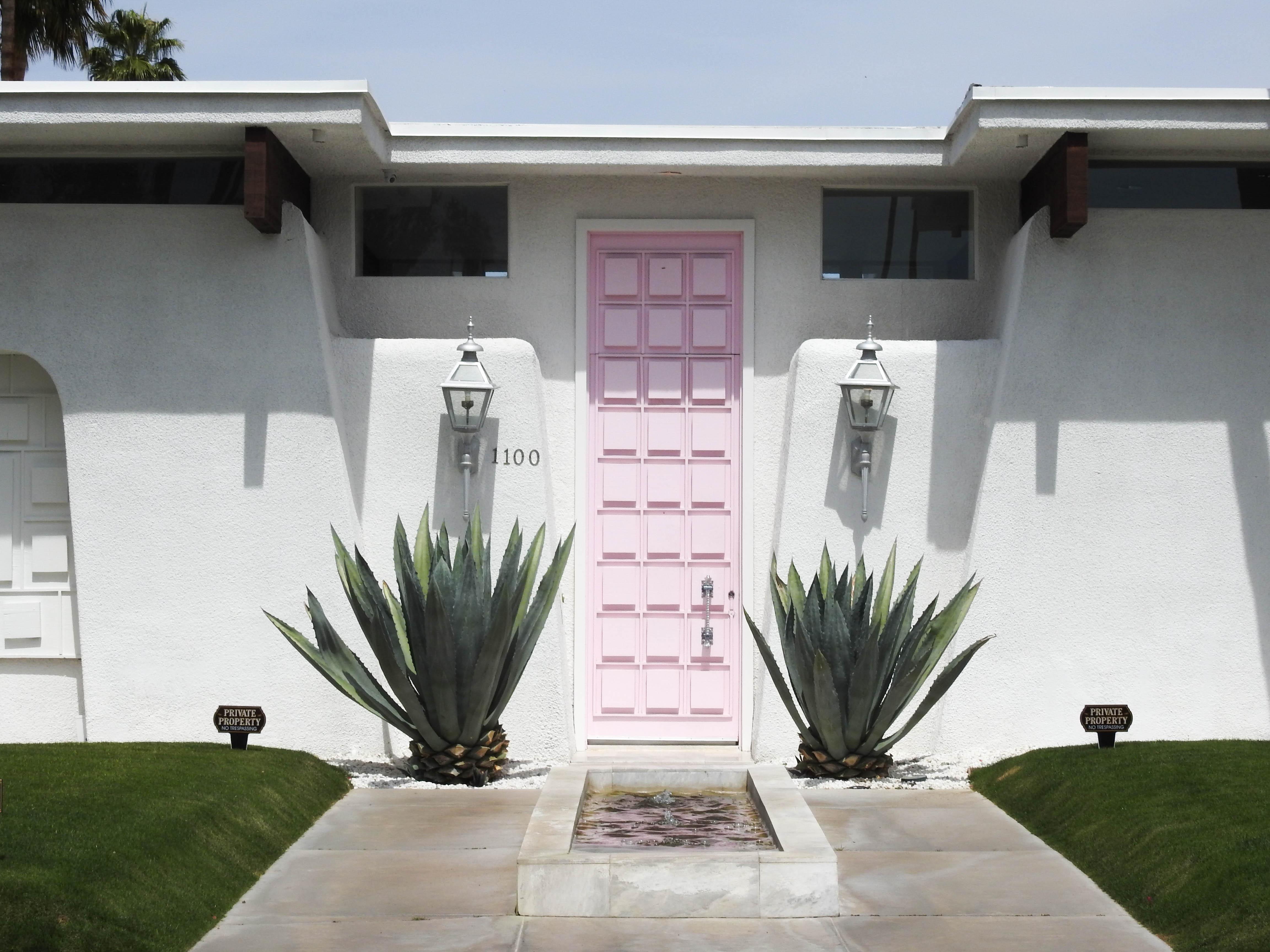 Famous Pink Door