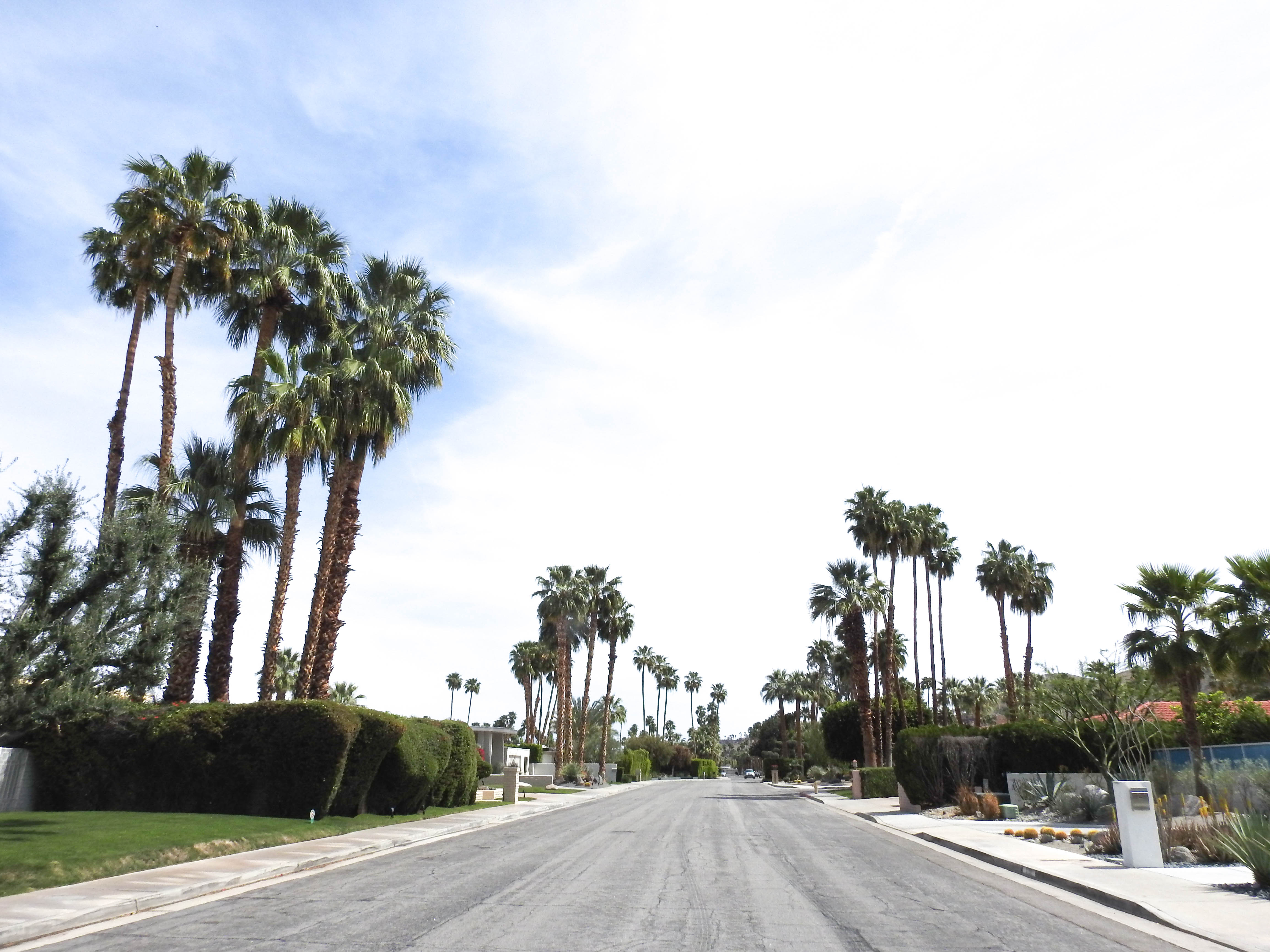 Streets of Palm Springs
