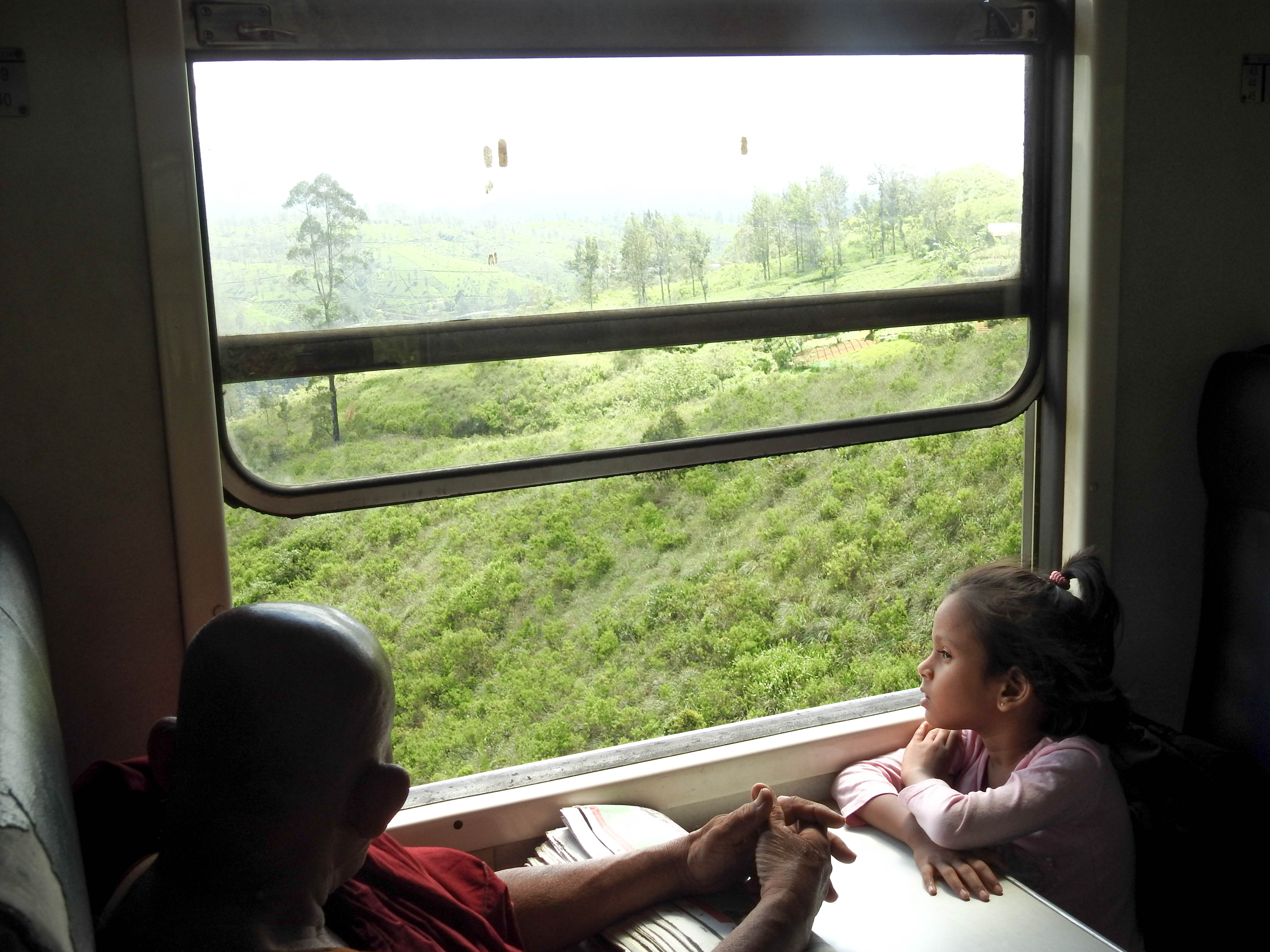 Train ride locals
