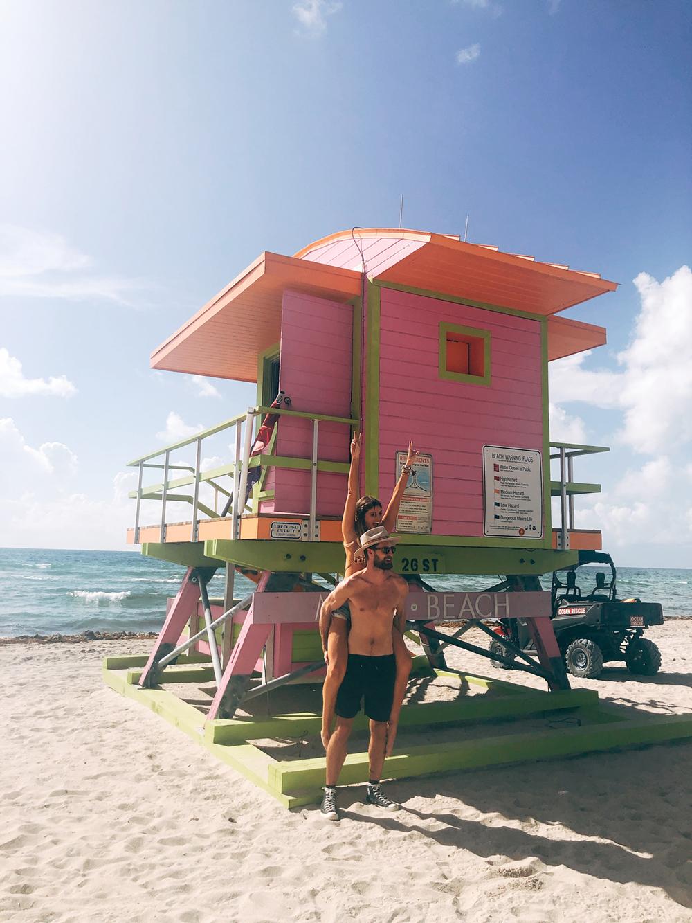 Lifeguard Tower 1